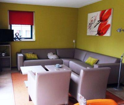 Vakantiehuis Hooghalen: Bungalow type D6 6-personen