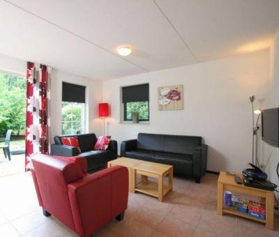 Vakantiehuis Hooghalen: Bungalow type C4 4-personen