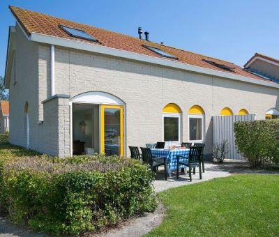 Vakantiehuis Renesse: Bungalow type SD6 voor 6-personen