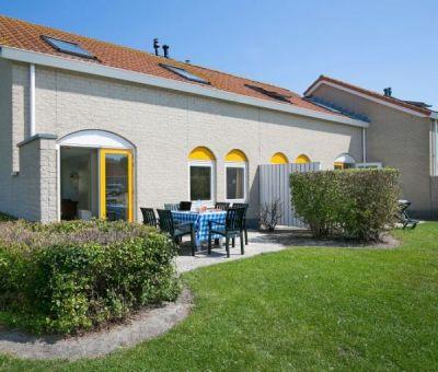 Vakantiehuis Renesse: bungalow type SD8C 8-personen