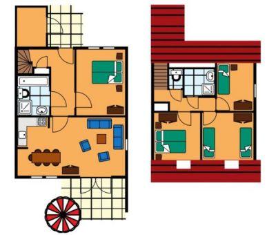 Vakantiehuis Renesse: Bungalow type SEC 7-personen