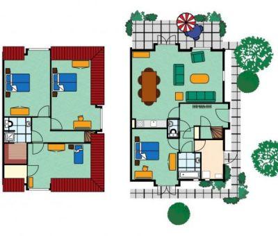 Vakantiehuis Kamperland: Kindervilla type KV 6 + 1-personen