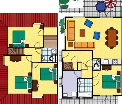 Vakantiehuis Domburg: grote villa type U8 8-personen
