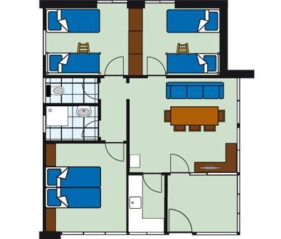 Vakantiewoningen huren in Lindenberg, Allgau Beieren, Duitsland | bungalow voor 8 personen