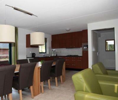 Vakantiehuis Hooghalen: Bungalow met sauna type F10 10-personen