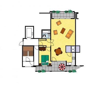 Vakantiehuis Breskens: Appartement type A 2-personen