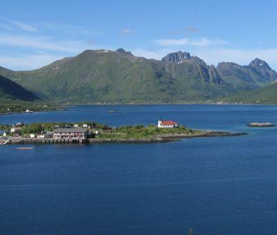 Vakantiewoningen huren in Laupstad, Lofoten, Nordland, Noorwegen | Appartement voor 4 personen