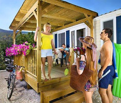 Mobilhomes huren in Rabac, Istrië, Kroatie  mobilhomes voor 6 personen