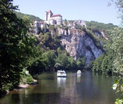 Vakantiewoningen huren in Saint Cirq Lapopie, Midi-Pyreneeën Lot, Frankrijk   vakantiehuis voor 6 personen