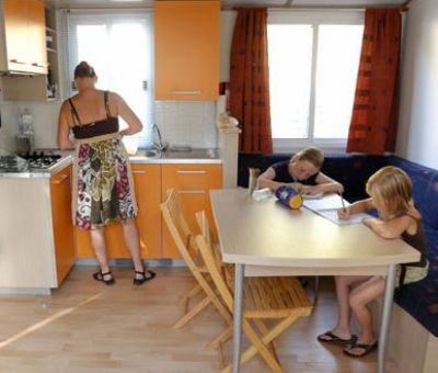 mobilhomes huren in La Chapelle-Hermier, Pays de la Loire Vendee, Frankrijk | mobilhomes voor 4 en 6 personen