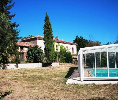 Vakantiewoningen huren in Lézat sur Lèze, Midi-Pyreneeën, Frankrijk   vakantiehuis voor 10 personen