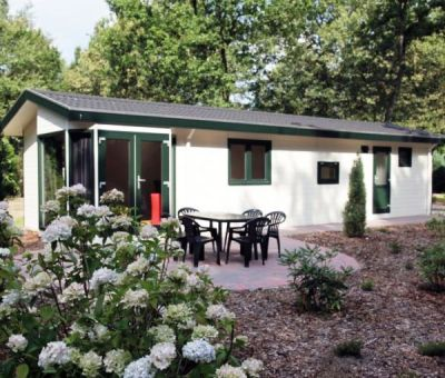 Vakantiehuis Hooghalen: Chalet Heidebloem 6-personen