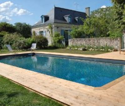 Vakantiewoningen huren in Bourgueil, Centre Indre-et-Loire, Frankrijk | vakantiehuis voor 9 personen