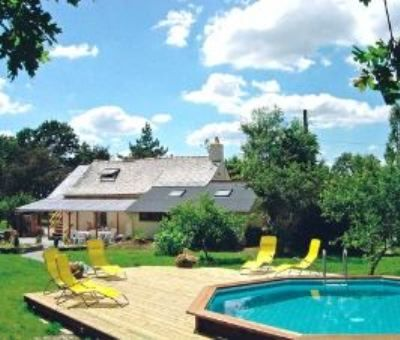 Vakantiewoningen huren in Châteaubriant, Pays de la Loire Loire-Atlantique, Frankrijk | vakantiehuis voor 9 personen