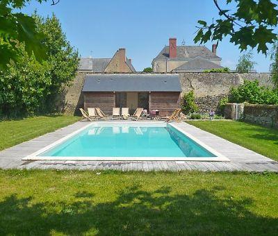 Vakantiewoningen huren in Thorigné-d'Anjou, Pays de la Loire Maine-et-Loire, Frankrijk | vakantiehuis voor 16 personen