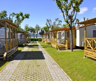 Mobilhomes huren in Calceranica, Lago Caldonazzo, Trentino, Italie   mobilhomes voor 6 personen