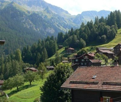 Vakantiewoningen huren in Tschiertschen, Mittelbünden, Zwitserland | appartement voor 6 personen