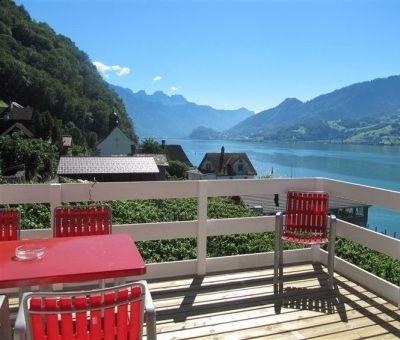 Vakantiewoningen huren in Quinten, Oost Zwitserland, Zwitserland | appartement voor 4 personen