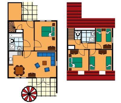 Vakantiehuis Renesse: Bungalow type SIC 8-personen