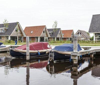 Vakantiewoningen huren in Terherne, Friesland, Nederland | Waterwoning voor 8 personen