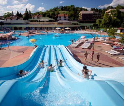 Vakantiewoningen huren in Podcetrtek, Noordoost Slovenie, Slovenie | vakantiehuisje voor 4 personen op park met Wellness