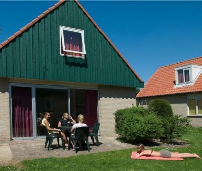 Vakantiehuis Renesse: bungalow type kb 8-personen