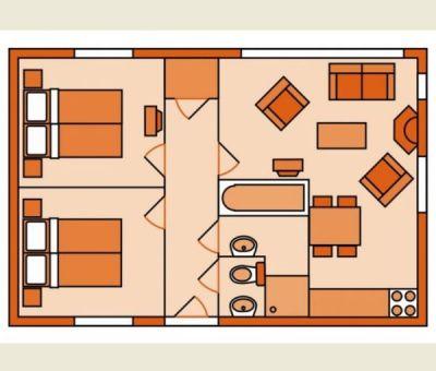 Vakantiewoningen huren in Vlierden, Noord Brabant, Nederland   vakantiehuisje voor 4 personen