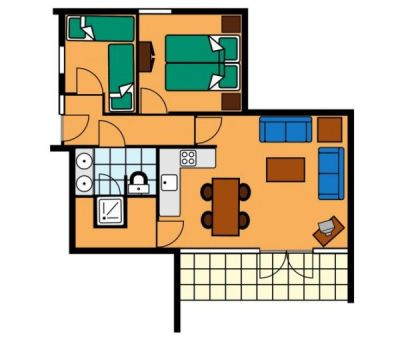 Vakantiewoningen huren in Arcen, Limburg, Nederland | vakantiehuisje voor 4 personen