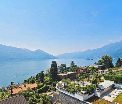 Vakantiewoningen huren in Ascona, Lago Maggiore,Ticino, Zwitserland   appartement voor 4 personen