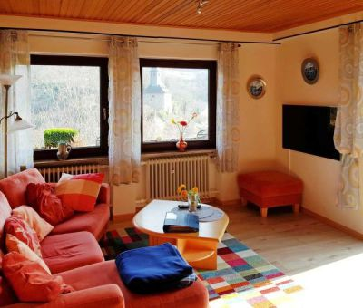 Vakantiewoningen huren in St.Goarshausen, Rijnland-Palts Saarland, Duitsland | appartement voor 4 personen