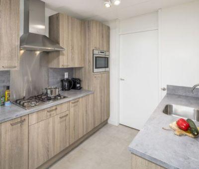 Vakantiehuis Nieuwvliet-Bad: Luxe bungalow voor 4 personen