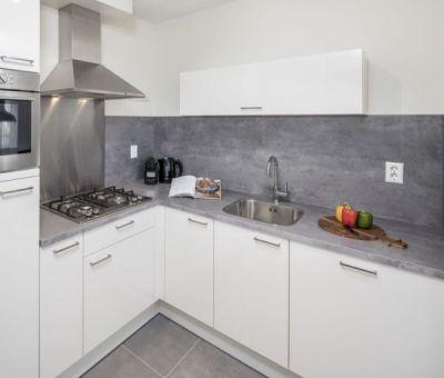 Vakantiehuis Nieuwvliet-Bad: Luxe bungalow voor 6 personen