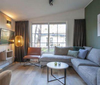 Vakantiehuis Vlierden: Chalet type BI6 Comfort 6-personen