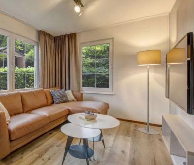 Vakantiehuis Wissel/Epe: Bungalow type S6A Comfort 6-personen