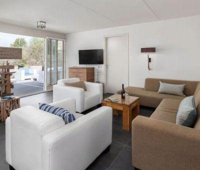 Vakantiehuis Domburg: Luxe villa type T6 Luxe 6-personen
