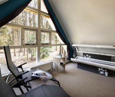 Vakantiehuis Ruinen: Bungalow type Markegaerde Wellness 4-personen