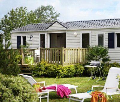 Mobilhomes huren in Deauville, Normandie Calvados, Frankrijk | mobilhome voor 4 en 6 personen