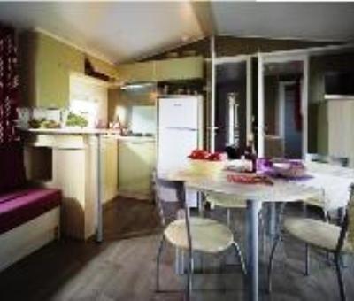 Mobilhomes huren in Merville-Franceville-Plage, Normandie Calvados, Frankrijk | mobilhome voor 4 en 6 personen