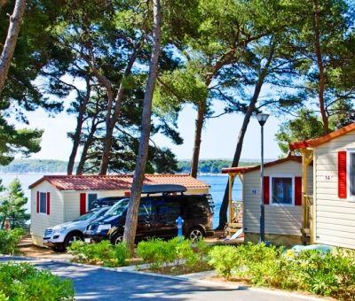 Mobilhomes huren in Rab, eiland Rab, Kvarner, Kroatie   vakantiehuisje voor 2 - 6 personen