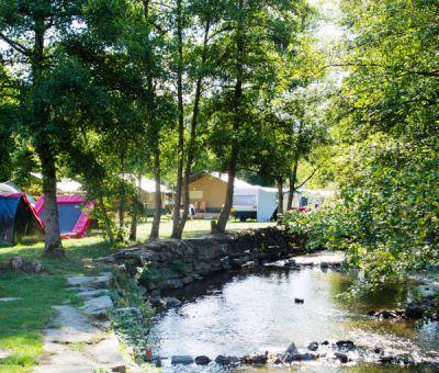 Vakantiehuis Enscherange: Stacaravan type Skye 6-personen