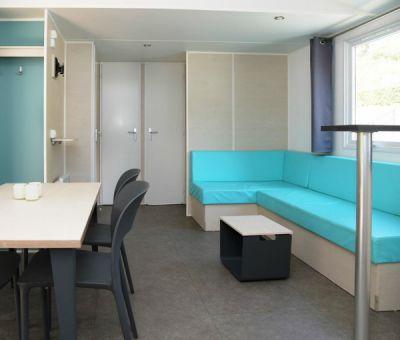 Vakantiehuis Enscherange: Stacaravan type Aqua 6-personen