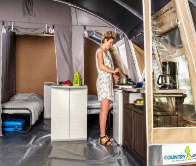 Vakantiehuis Nommern: Tent type Luxe Lodge 5-personen