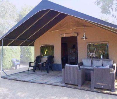 Vakantiehuis Nommern: Tent type Safari 5-personen