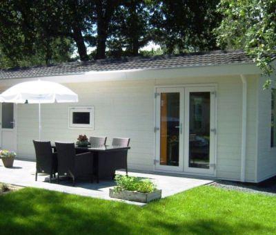 Vakantiehuis Velsen-Zuid: Chalet type A 4-personen