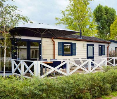 Vakantiehuis Wassenaar: Chalet type Comfort met Veranda 4-personen