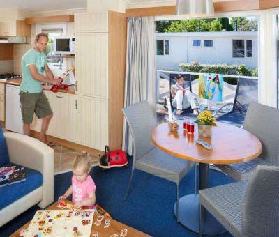 Vakantiehuis Wassenaar: Chalet type Comfort met Veranda 5-personen