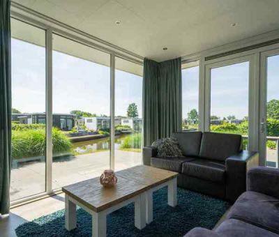 Vakantiehuis Nunspeet: Chalet type Pavilion Waterfront 4-personen