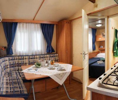 mobilhomes huren in Bonelli di Porto Tolle, Veneto, Italie | mobilhomes voor 6 personen