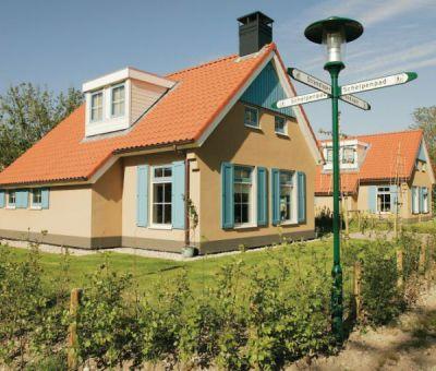 Vakantiehuis De Koog Texel: Villa type T4A Comfort 4-personen