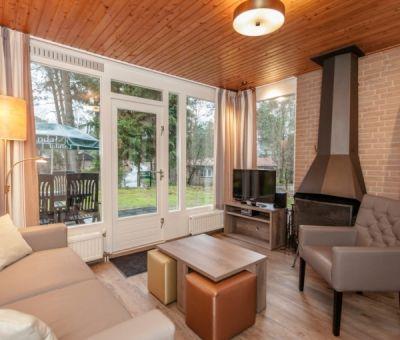 Vakantiehuis Eerbeek: Bungalow type 4C Comfort 4-personen